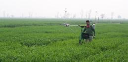 Phenocart measuring plant data (phenotype)
