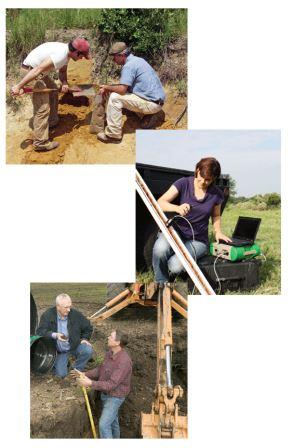 Soil Scientists in the Field