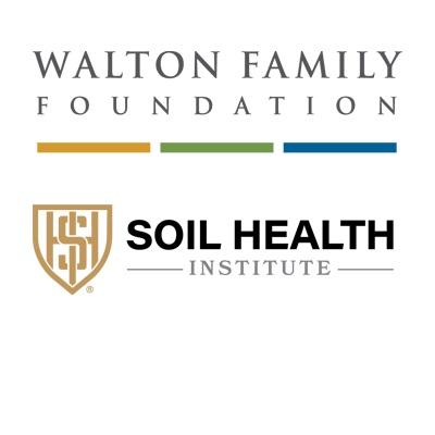 Walton Foundation and Soil Health Institute Logos