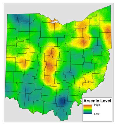 Ohio S High Soil Arsenic Levels Due To Natural Processes Soil