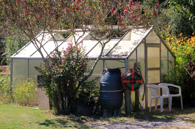 A Greenhouse Within Your Community Garden Can Extend The Season. Photo  Credit Morguefile.